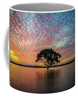 Coffee Mug featuring the photograph Sunset At The Brighton Tree by Keiran Lusk