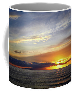 Sunset At The Canary Island La Palma Coffee Mug
