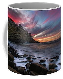 Sunset At The Cove Coffee Mug