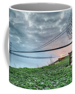 Sunset At The Humber Bridge Coffee Mug