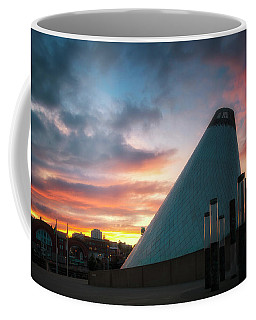 Sunset At The Museum Of Glass Coffee Mug