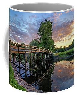 Sunset At The Old North Bridge Coffee Mug