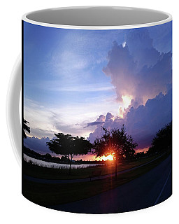 Coffee Mug featuring the photograph Sunset At The Park In Miami Florida by Patricia Awapara