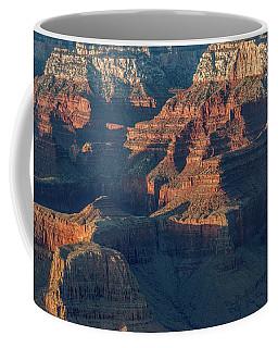 Sunset At The South Rim, Grand Canyon Coffee Mug