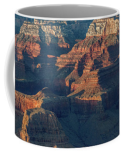 Sunset At The South Rim, Grand Canyon Coffee Mug