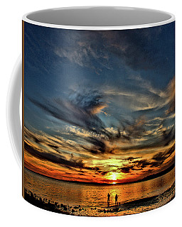 Sunset At The Waters Edge Coffee Mug