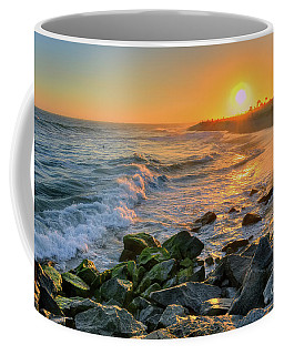 Sunset At The Wedge Coffee Mug