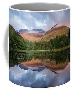 Sunset At Torren Lochan Coffee Mug