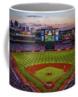 Sunset At Turner Field - Home Of The Atlanta Braves Coffee Mug