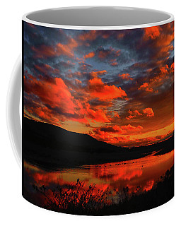 Sunset At Wallkill River National Wildlife Refuge Coffee Mug