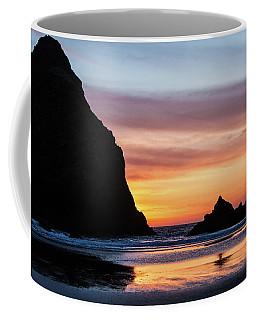 Sunset At Whalehead Beach Coffee Mug
