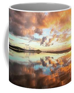 Sunset Beach Reflections Coffee Mug