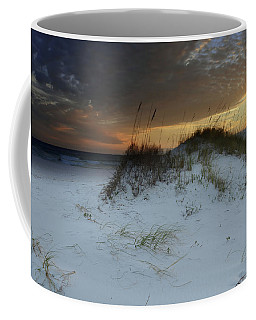 Sunset Behind The Sand Dune Coffee Mug