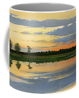 Sunset Ben Jack Pond Coffee Mug