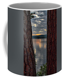 Sunset Between Trees  Coffee Mug