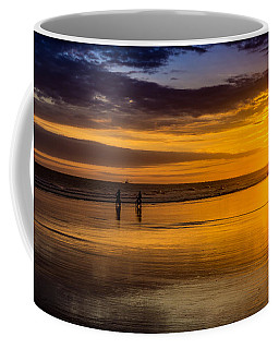 Sunset Bike Ride Coffee Mug