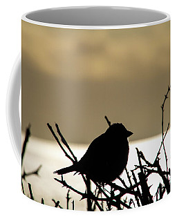 Sunset Bird Silhouette Coffee Mug