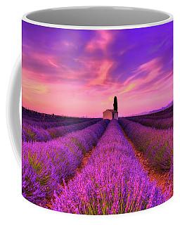 Sunset Blues Coffee Mug by Midori Chan