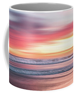 Sunset Blur - Pink Coffee Mug