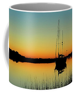 Sunset Bowens Island Coffee Mug