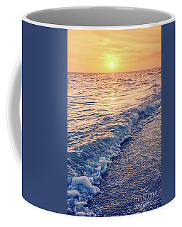 Coffee Mug featuring the photograph Sunset Bowman Beach Sanibel Island Florida Vintage by Edward Fielding