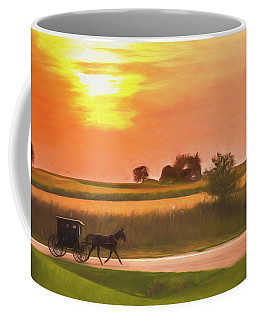 Sunset Buggy Ride Coffee Mug