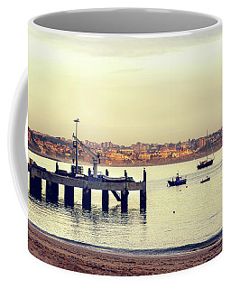 Coffee Mug featuring the photograph Sunset By The Sea by Marion McCristall