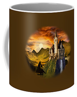 Sunset Castle Coffee Mug