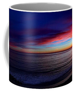 Coffee Mug featuring the photograph Sunset by Chris Tarpening