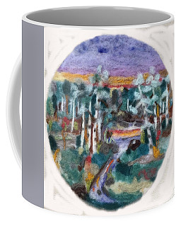 Sunset Coffee Mug by Christine Lathrop