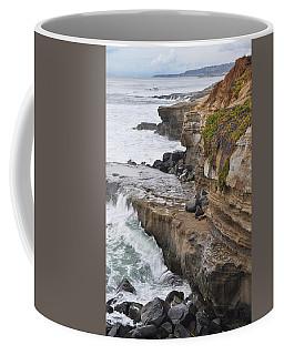 Sunset Cliffs San Diego Portrait Coffee Mug
