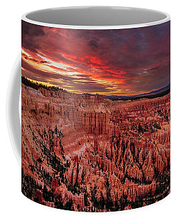 Sunset Clouds Over Bryce Canyon Coffee Mug
