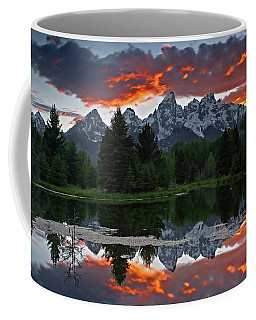 Coffee Mug featuring the photograph Sunset Clouds by Ronnie and Frances Howard