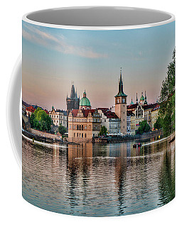 Sunset Cruise Prague Coffee Mug