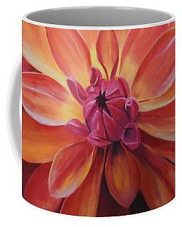 Sunset Dahlia Coffee Mug
