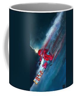 Sunset Extreme Ski Coffee Mug
