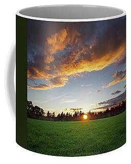 Sunset Field Coffee Mug