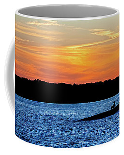 Sunset Fisherman  Coffee Mug