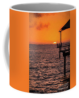 Sunset Fishing          Ed Coffee Mug