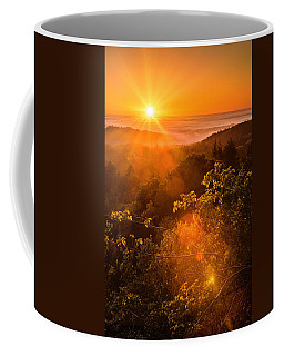 Sunset Fog Over The Pacific #2 Coffee Mug