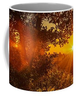 Sunset Fog Over The Pacific #3 Coffee Mug