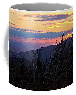 Sunset From Caps Ridge, Mount Jefferson Coffee Mug