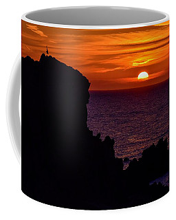 Coffee Mug featuring the photograph Sunset From Costa Paradiso by Geoff Smith