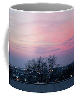 Sunset From Liberty Memorial Coffee Mug