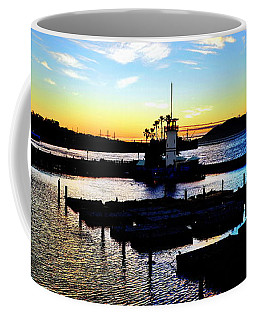 Coffee Mug featuring the photograph Sunset From Pier 39 - San Fransisco by Glenn McCarthy Art and Photography