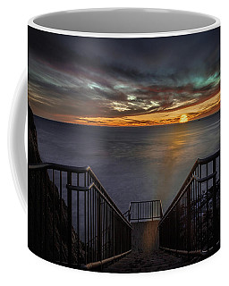 Sunset From Sandpiper Staircase Coffee Mug