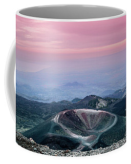 Sunset From The Top Of The Etna Coffee Mug