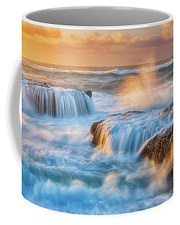 Coffee Mug featuring the photograph Sunset Fury by Darren White