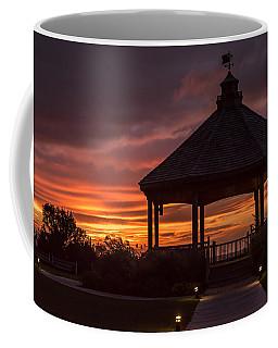 Sunset Gazebo Lavallette New Jersey Coffee Mug