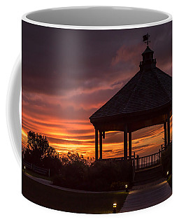 Sunset Gazebo Lavallette New Jersey Coffee Mug